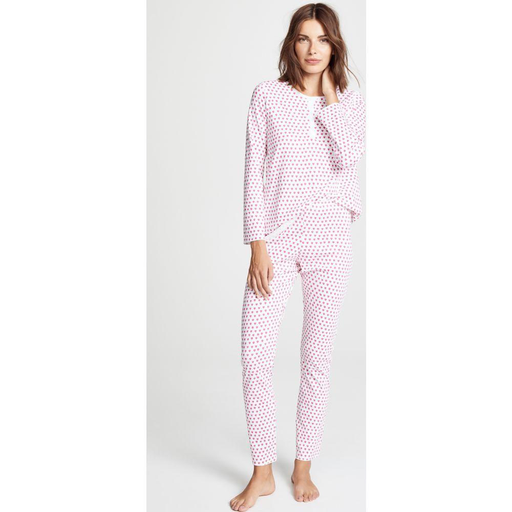ローラー ラビット Roller Rabbit レディース パジャマ·上下セット インナー·下着【Hearts PJ Set】Pink