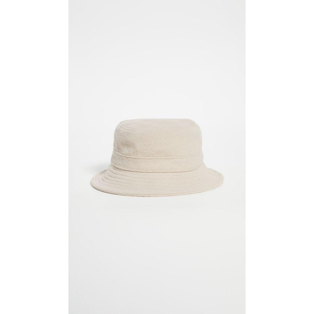 ハットアタック レディース 帽子 ハット 期間限定 サイズ交換無料 通信販売 Hat バケットハット Plush Attack Taupe Bucket