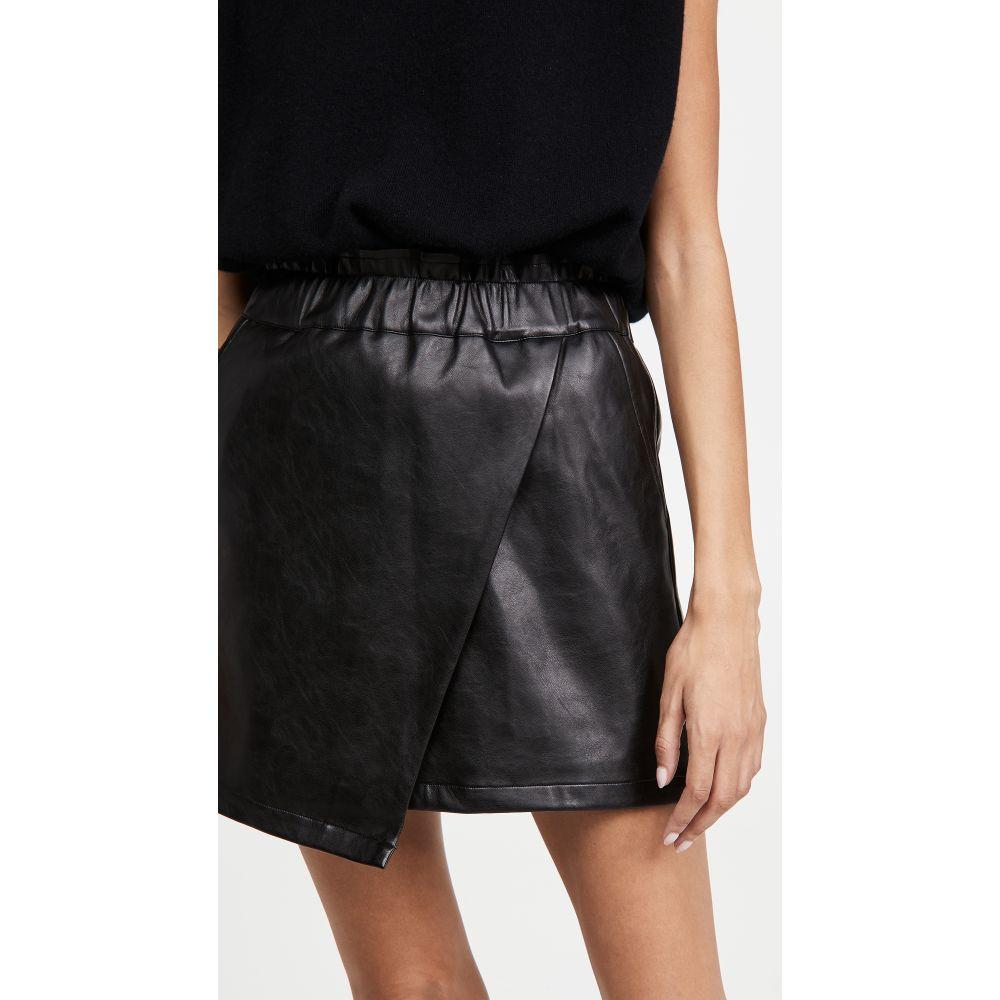 大きい割引 ジョーズジーンズ ミニスカート Joe's Jeans レディース ミニスカート ラップスカート スカート【Faux スカート【Faux Leather Wrap Wrap Mini Skirt】Black, 山古志村:744ff35c --- zhungdratshang.org