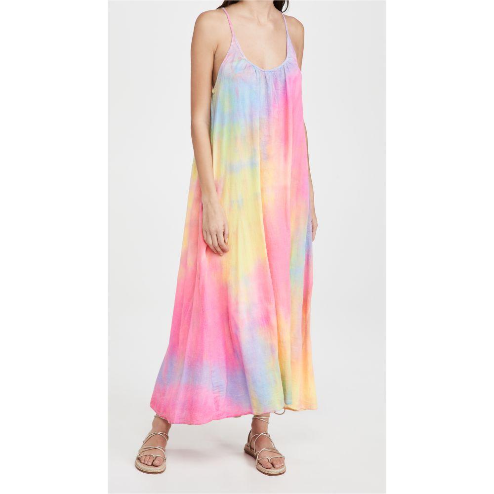 Neon Tie 水着・ビーチウェア【Tulum Tie ビーチウェア Dye レディース ナインシード Dress ワンピース・ドレス 9seed Dye】Neon