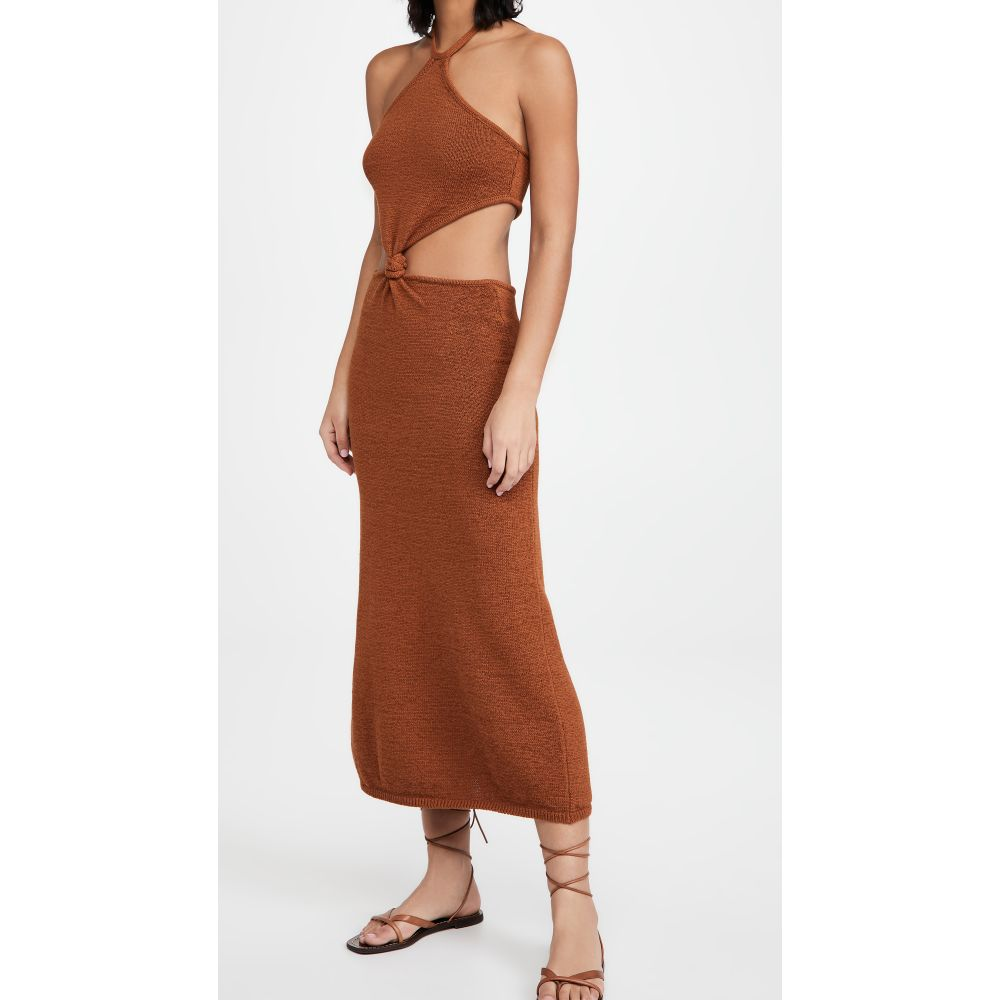 カルト ガイア レディース 水着 ビーチウェア サイズ交換無料 Cult ドレス 日本未発売 Knit Dress Amber ワンピース 激安特価品 Cameron Gaia
