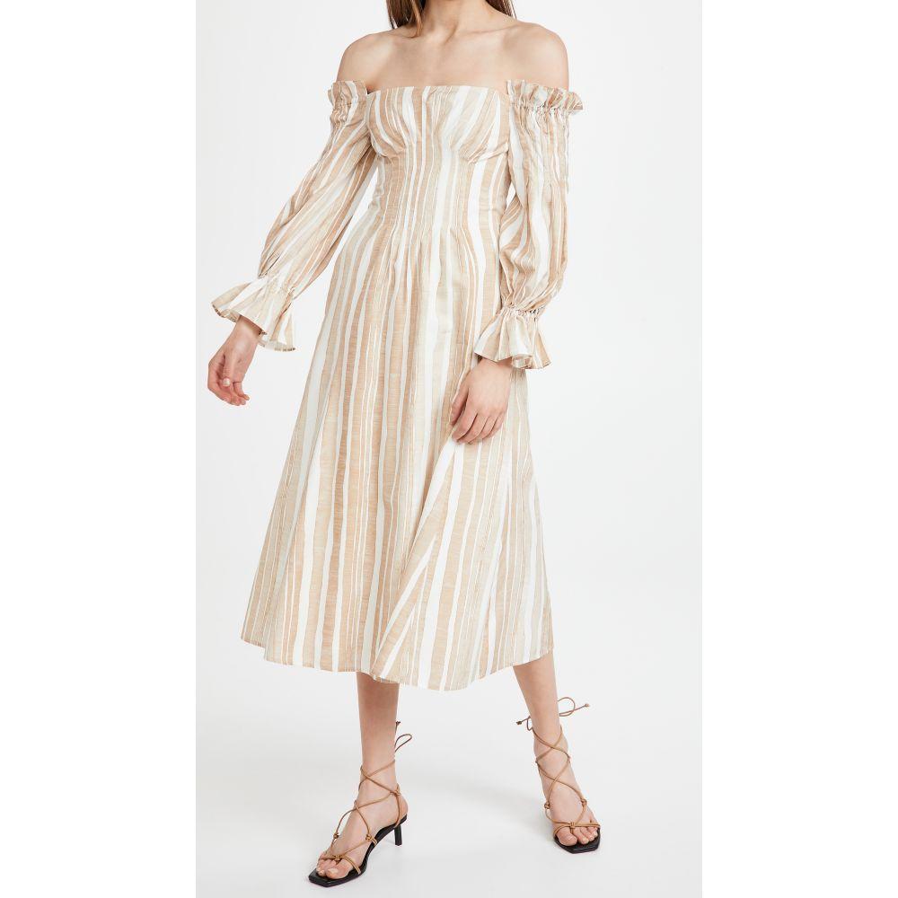 【特別訳あり特価】 カルト Multi ガイア Cult Gaia レディース ワンピース ワンピース・ドレス Cult ワンピース【Ida Dress】Natural Multi Stripe, TopIsm メンズ ファッション 通販:d2430f56 --- briefundpost.de