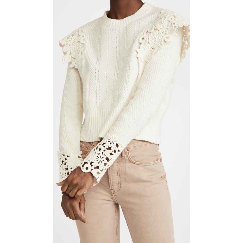 シー メーカー直送 レディース トップス ニット セーター サイズ交換無料 Sleeve Knit Sweater 今季も再入荷 Sea Ivory Long