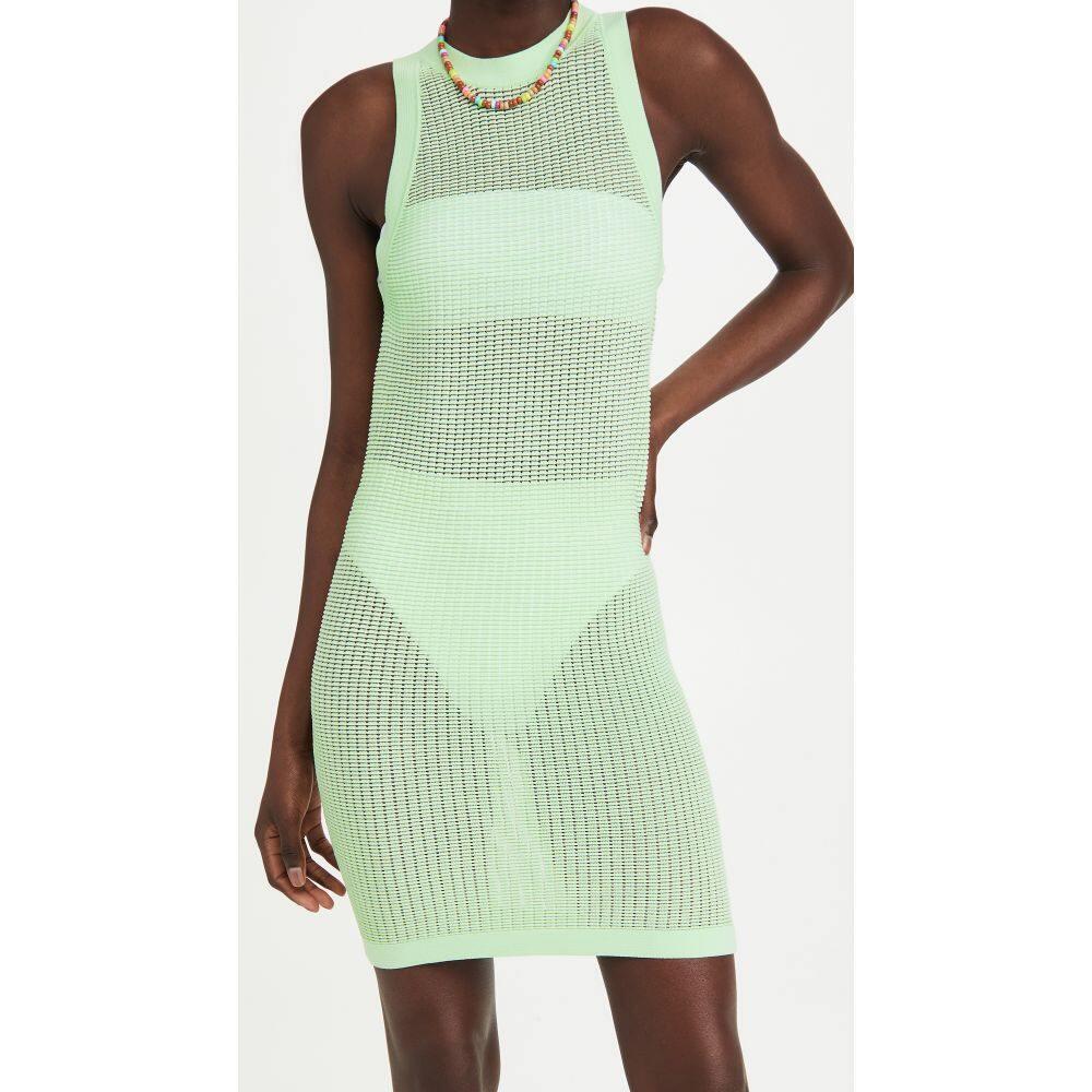 ワンピース・ドレス 水着・ビーチウェア【The Striped Carson ソリッド&ストライプ レディース ビーチウェア & Dress】Pistachio Solid
