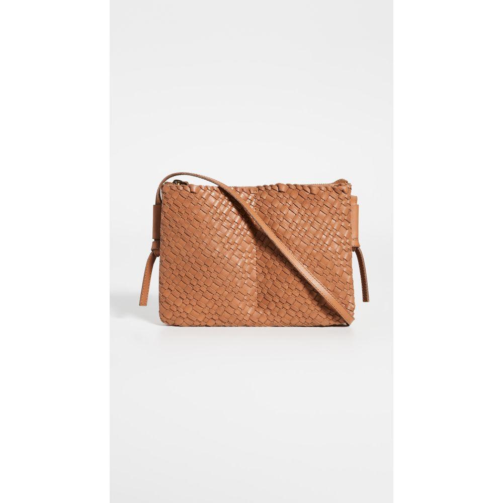 メイドウェル Madewell レディース ショルダーバッグ バッグ【The Knotted Crossbody Bag in Woven Leather】Desert Camel