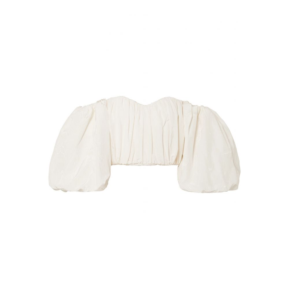 エラリー Ellery レディース トップス オフショルダー【Chatterley off-the-shoulder cotton-blend moire top】