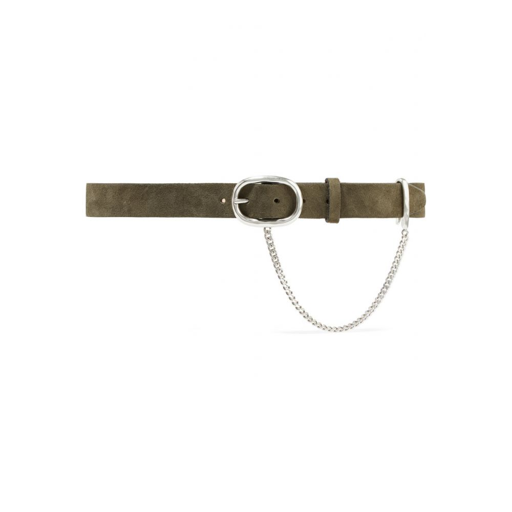 ラグ&ボーン rag & bone レディース ベルト【Wingman chain-embellished suede belt】
