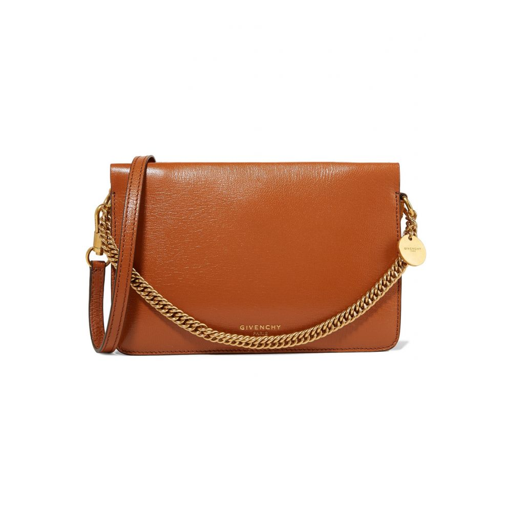 58893256df3f ジバンシー Givenchy レディース バッグ ショルダーバッグ【GV Cross suede-trimmed leather shoulder  bag】