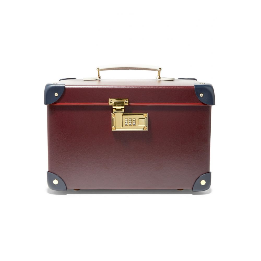 グローブ トロッター Globe-Trotter レディース バッグ【Goring 13'' leather-trimmed fiberboard vanity case】Oxblood