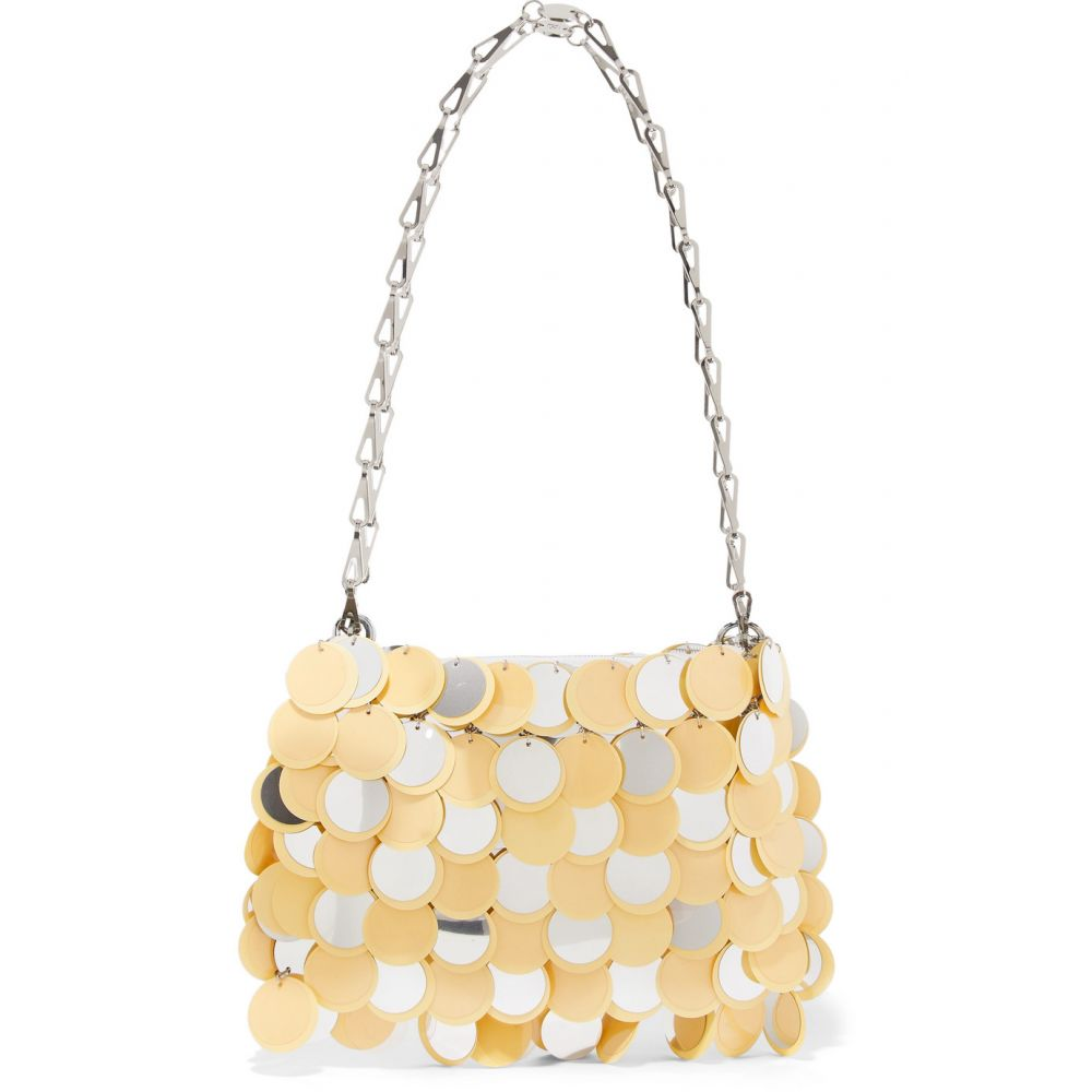 ce18517d6fa2 パコラバンヌ Paco Rabanne レディース バッグ ショルダーバッグ【Sparkle 1969 sequined faux leather  shoulder bag】