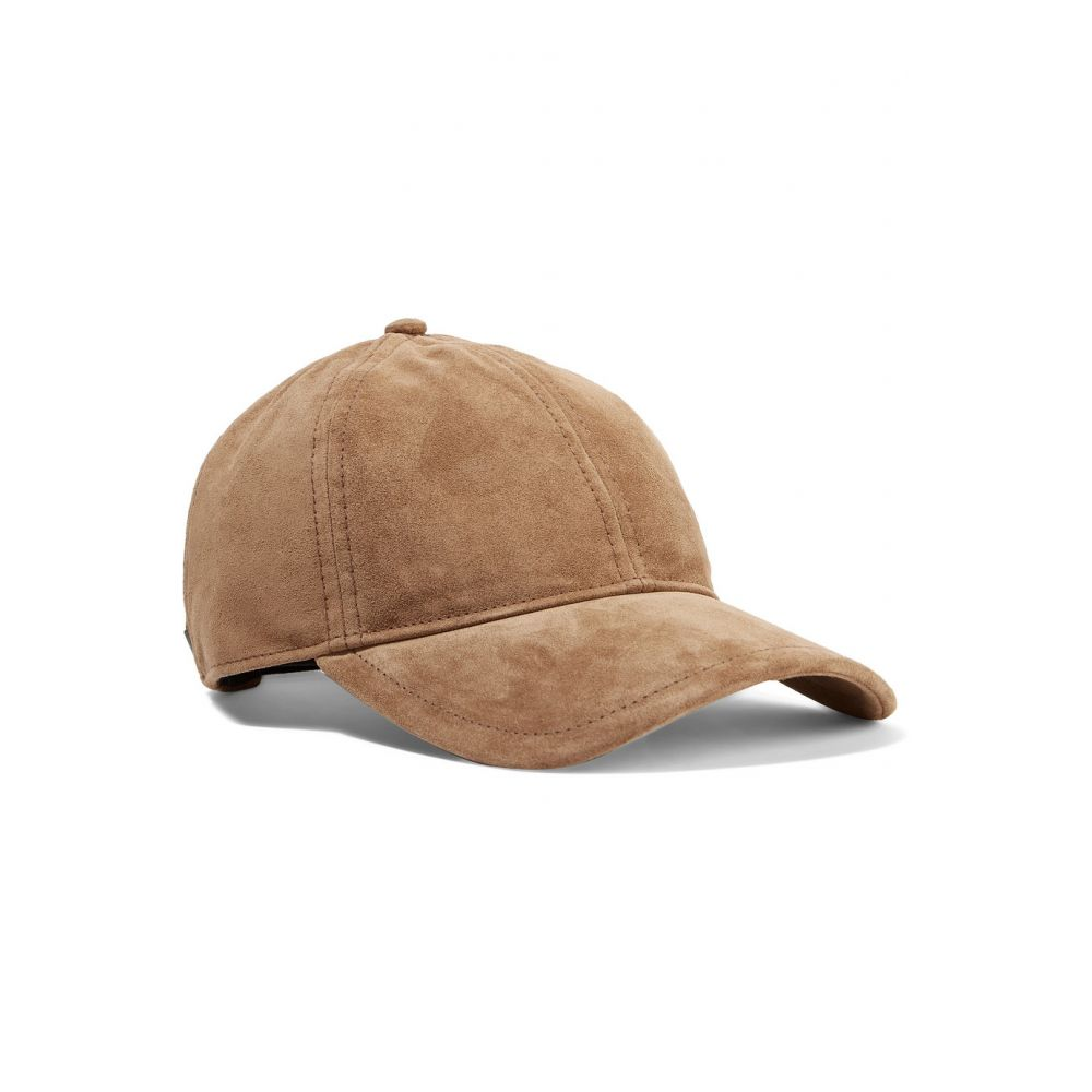 ラグ&ボーン rag & bone レディース 帽子 キャップ【Marilyn leather-trimmed suede baseball cap】