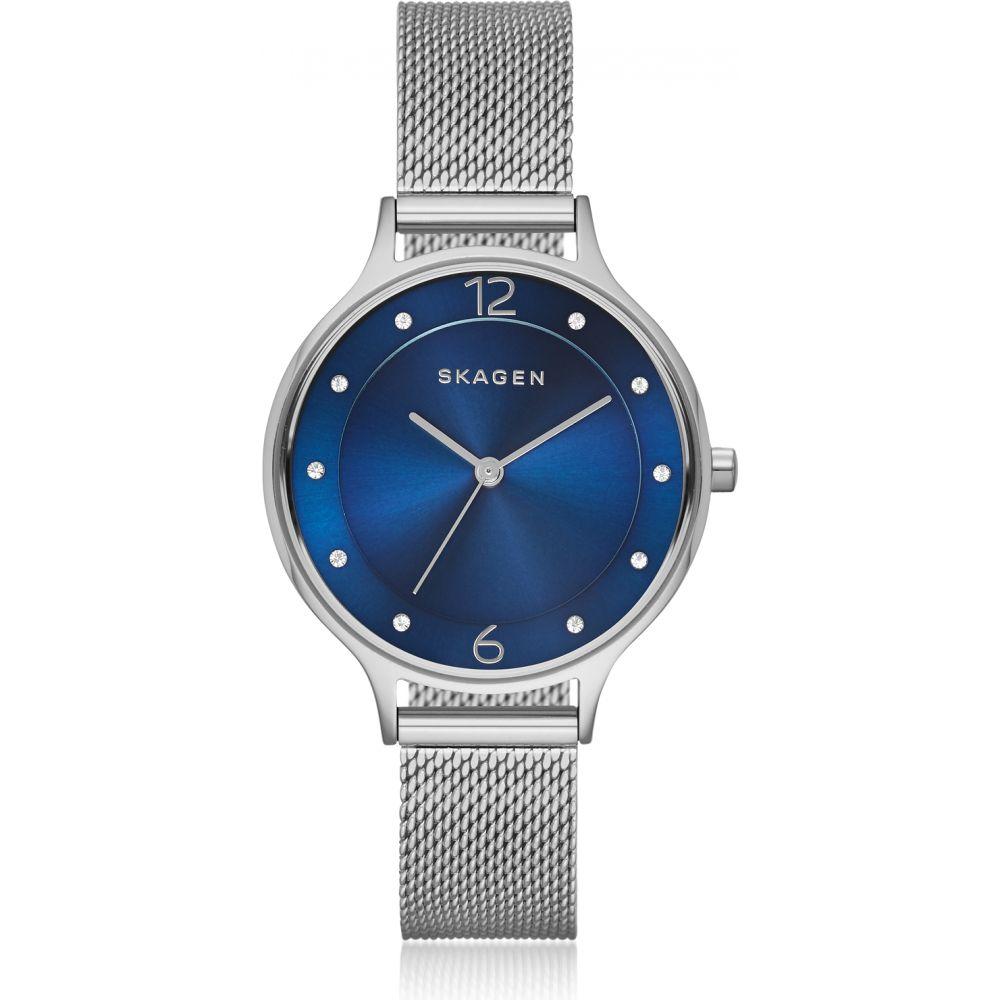 スカーゲン Skagen レディース 腕時計 【Anita Steel-Mesh Watch】Silver