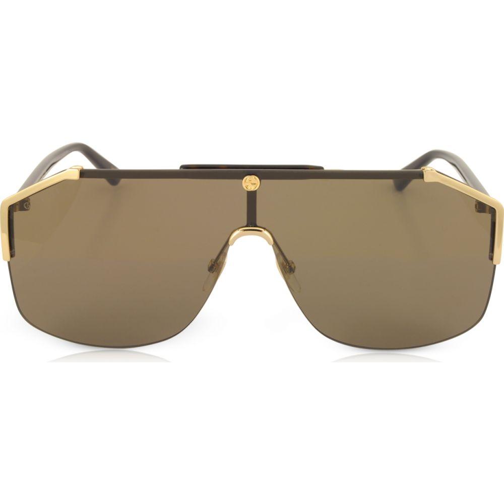 ファッションデザイナー グッチ Gucci【GG0291S メンズ メガネ メンズ Rectangular-frame・サングラス【GG0291S Rectangular-frame Gold Metal Sunglasses】Gold/Brown, PowerHouse:6f2b2e2b --- fotostrba.sk