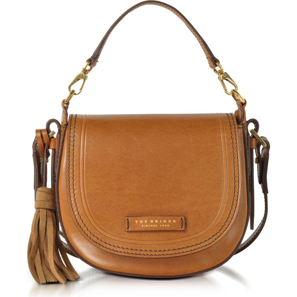 ブリッジ The Bridge レディース ショルダーバッグ メッセンジャーバッグ バッグ【Pearldistrict Medium Leather Messenger Bag w/Tassels】Cognac