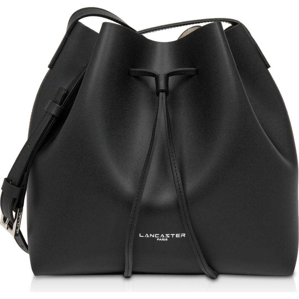 ランカスター Lancaster Paris レディース ショルダーバッグ バケットバッグ バッグ【Pur & Elements City Americanino Small Bucket Bag】Black/Gold