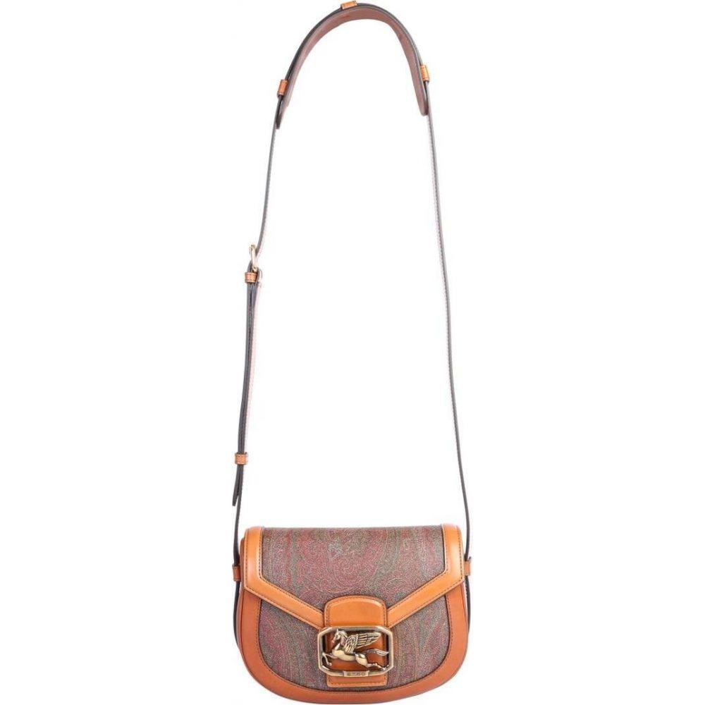エトロ Etro レディース ショルダーバッグ バッグ【Pegaso Shoulder Bag】Brown