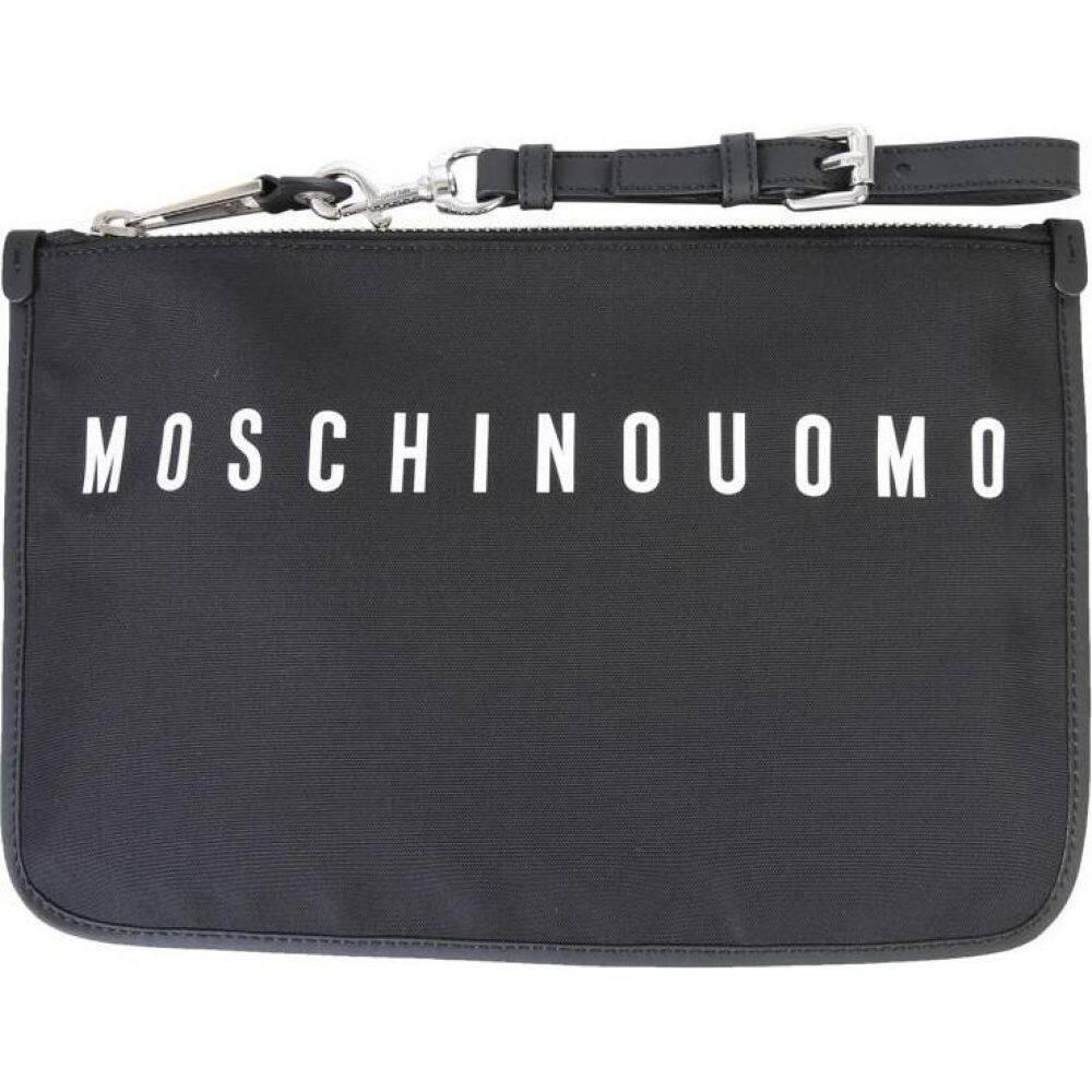 モスキーノ Moschino メンズ ポーチ 【Pouch With Logo】
