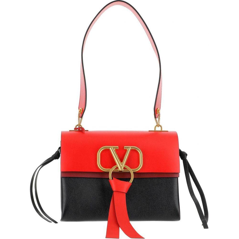 ヴァレンティノ Valentino レディース ショルダーバッグ バッグ Black and Red VRing Shoulder Bag Red プライバシーポリシー 当店では ホワイトデー 新築祝 敬老の日 ご挨拶 結婚式引出物