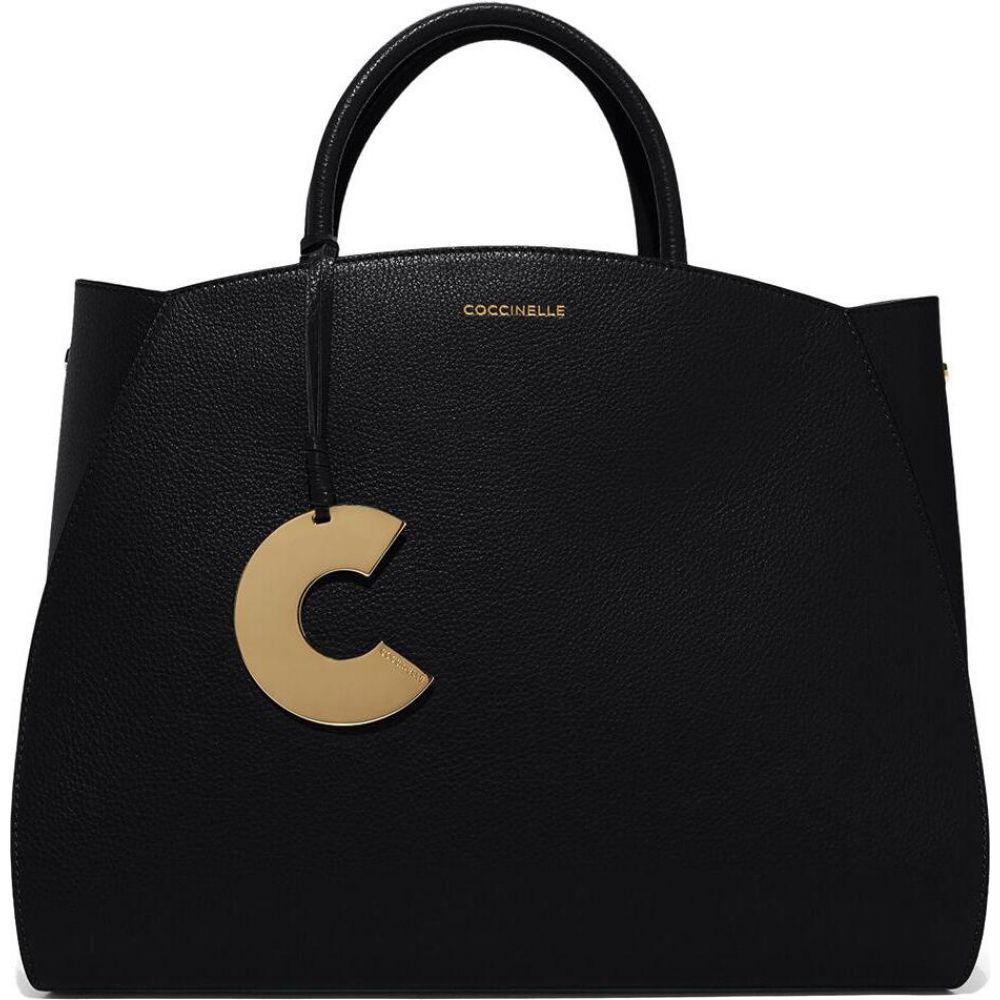 コチネレ Coccinelle レディース ハンドバッグ バッグ【Black Concrete Maxi Handbag】Black