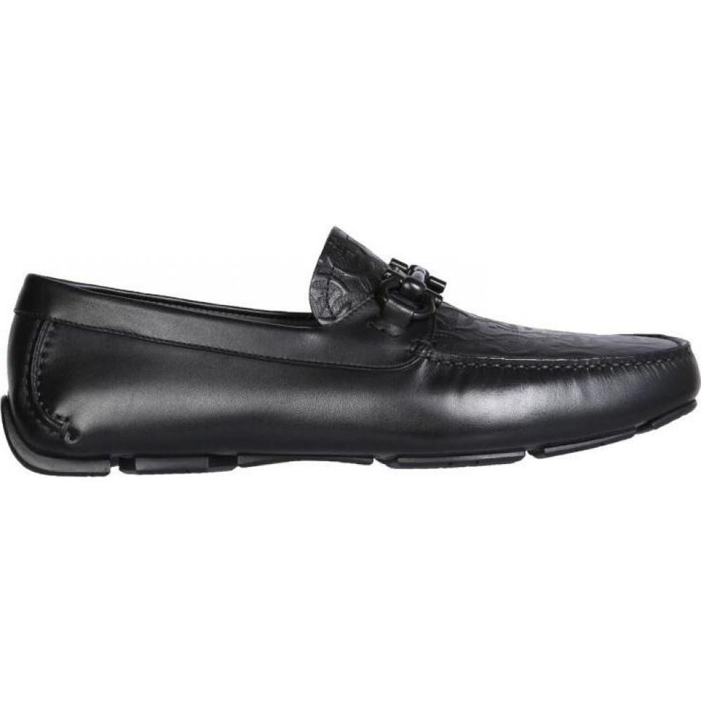 サルヴァトーレ フェラガモ Salvatore Ferragamo メンズ スリッポン・フラット モカシン シューズ・靴【Gancini Moccasins】Black
