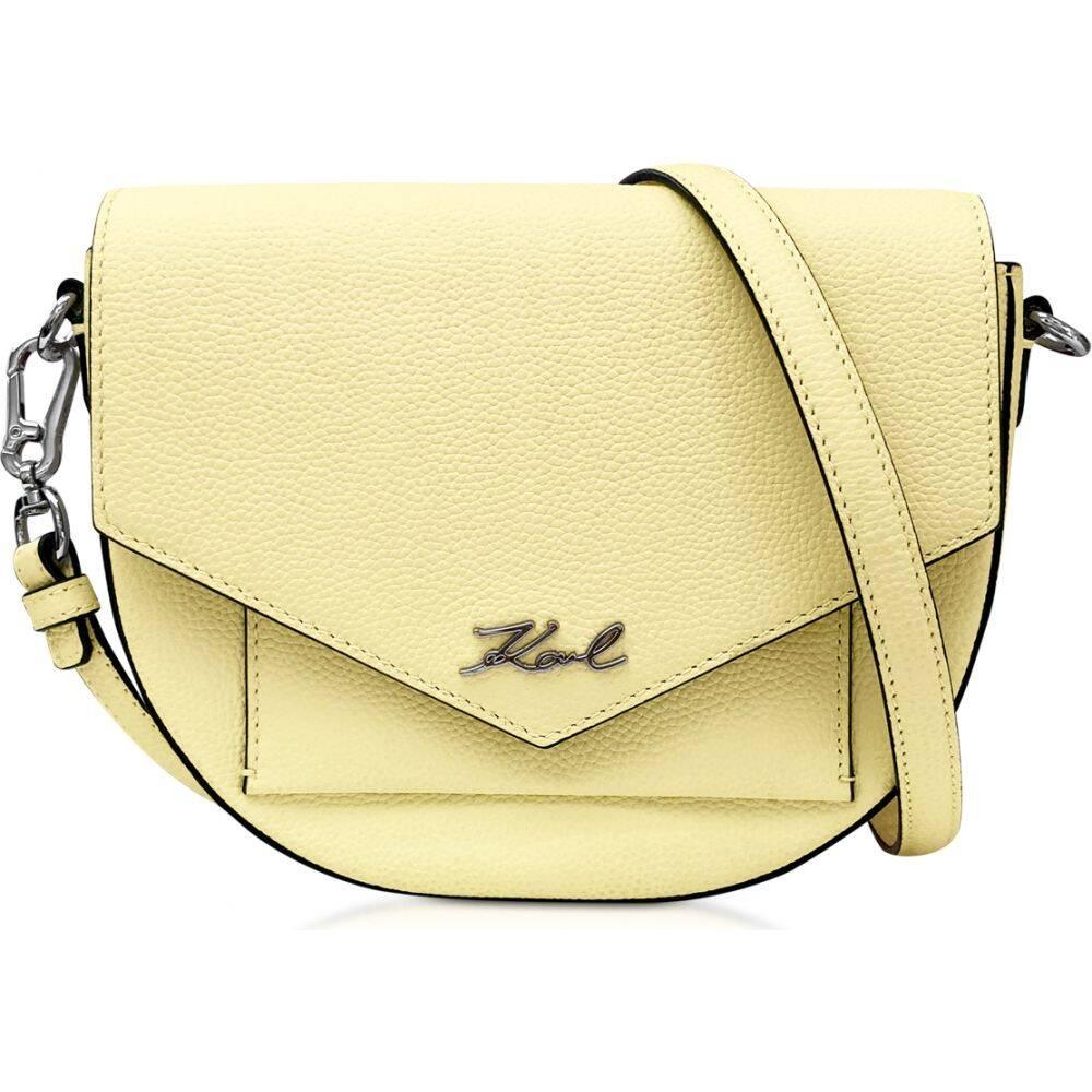 カール ラガーフェルド Karl Lagerfeld レディース ショルダーバッグ バッグ【K/Essential Crossbody Bag】Yellow Lemon