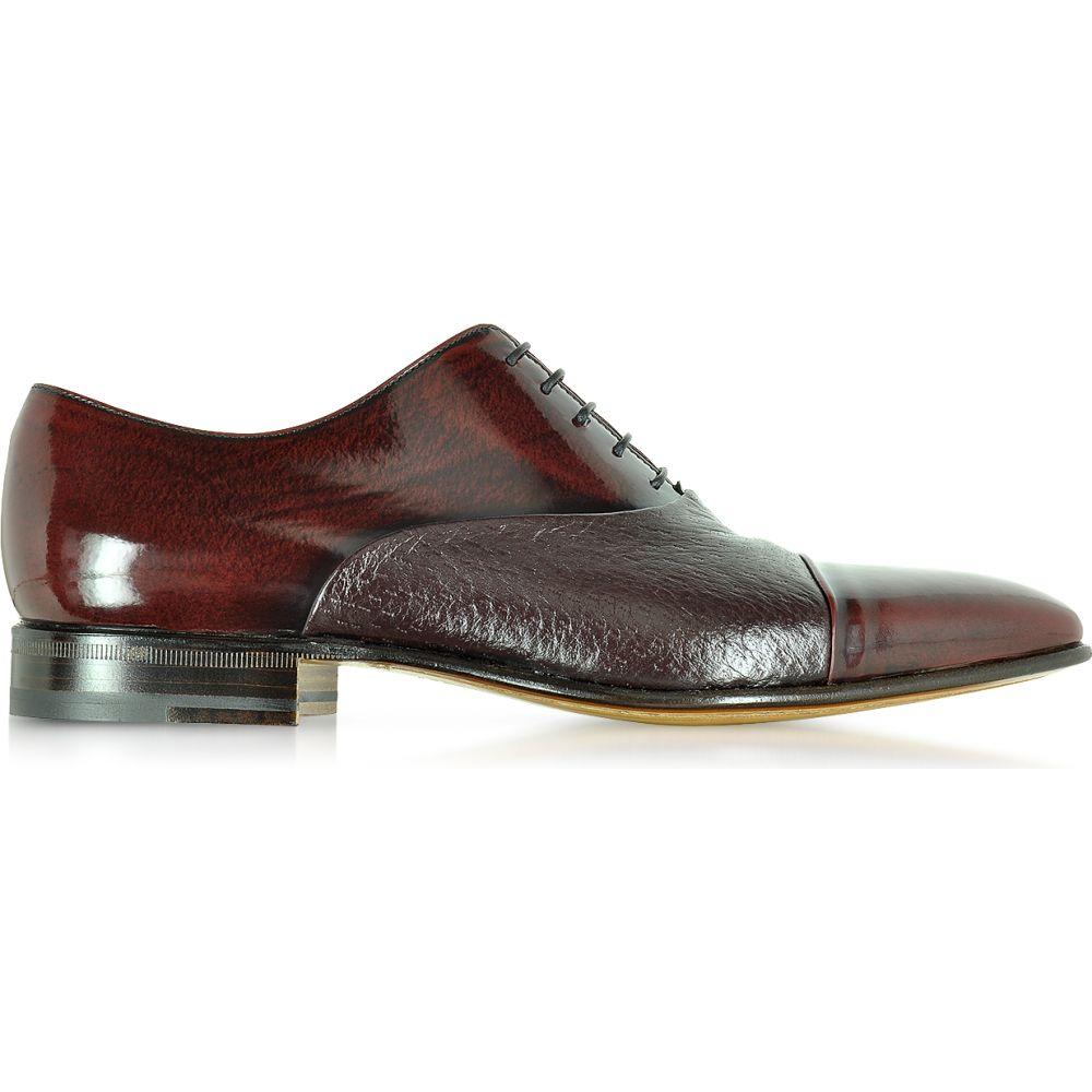 モレスキー Moreschi メンズ 革靴・ビジネスシューズ シューズ・靴【Digione Burgundy Peccary and Calf Leather Oxford Shoes】Burgundy