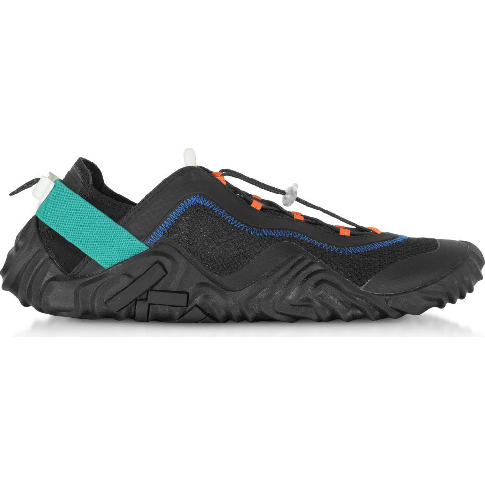 Wave メンズ Sneakers】Black ケンゾー Mesh Kenzo スニーカー Runway シューズ・靴【Black