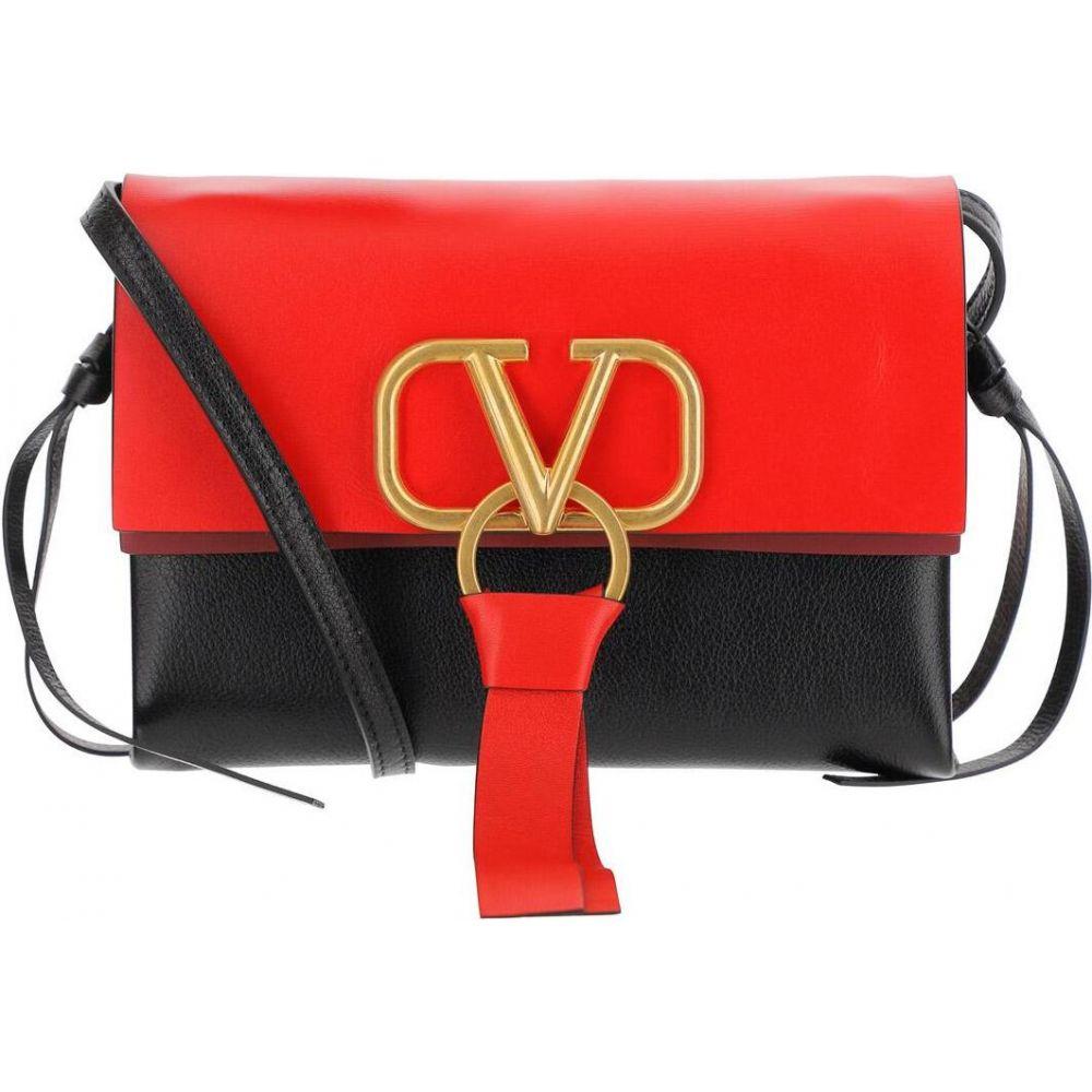 ヴァレンティノ Valentino レディース ショルダーバッグ バッグ【Color Block Vring Crossbody Bag】Red