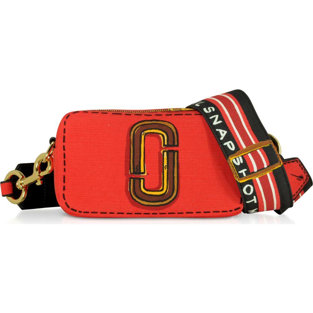 マーク ジェイコブス Marc Jacobs レディース ショルダーバッグ カメラバッグ バッグ【Cotton & Linen The Trompe L'oeil Snapshot Camera Bag】Red