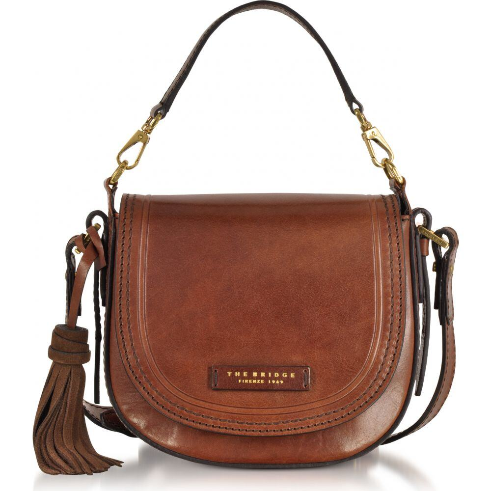ブリッジ The Bridge レディース ショルダーバッグ メッセンジャーバッグ バッグ【Pearldistrict Medium Leather Messenger Bag w/Tassels】Brown