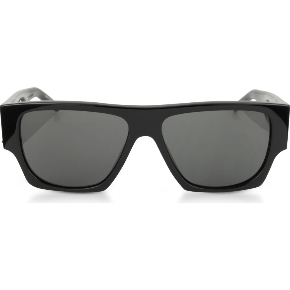【5%OFF】 イヴ サンローラン Saint【SL Laurent メンズ メガネ サンローラン・サングラス【SL Saint M17 Rectangle Frame Acetate Sunglasses】Black/Gray, ヤマトグン:4cede6ba --- fotostrba.sk