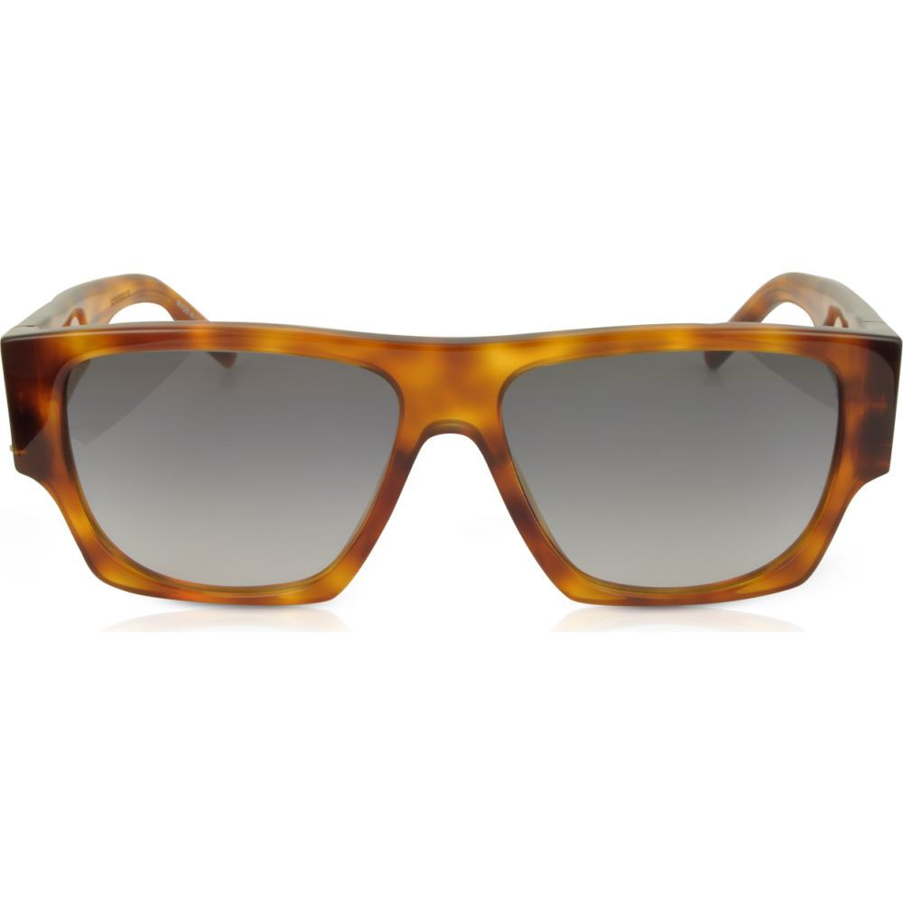 【おまけ付】 イヴ サンローラン サンローラン Saint Laurent Frame メンズ メガネ・サングラス【SL M17 Acetate Rectangle Frame Acetate Sunglasses】Havana/Grey, 現品限り一斉値下げ!:c69262f2 --- fotostrba.sk