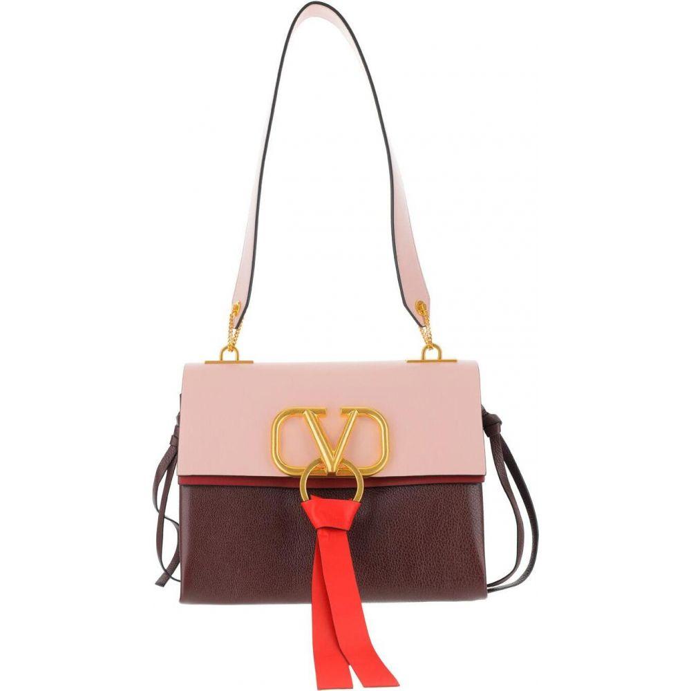 ヴァレンティノ Valentino レディース ショルダーバッグ バッグ Color Block Vring Shoulder Bag Pink 古稀祝 修理保証 キャッシュレス5%還元対象