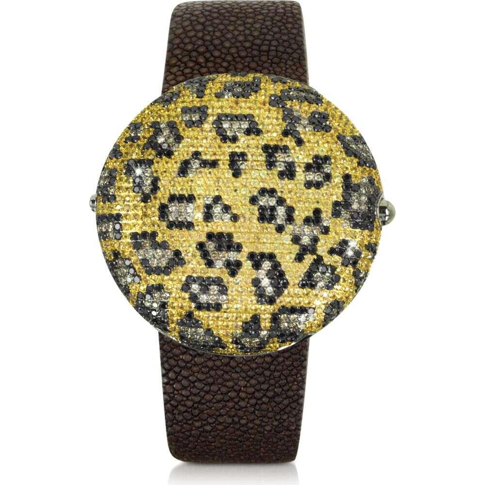 クリスチャン コバン Christian Koban レディース 腕時計 【Clou Leopard Diamond Dinner Watch】Multicolor