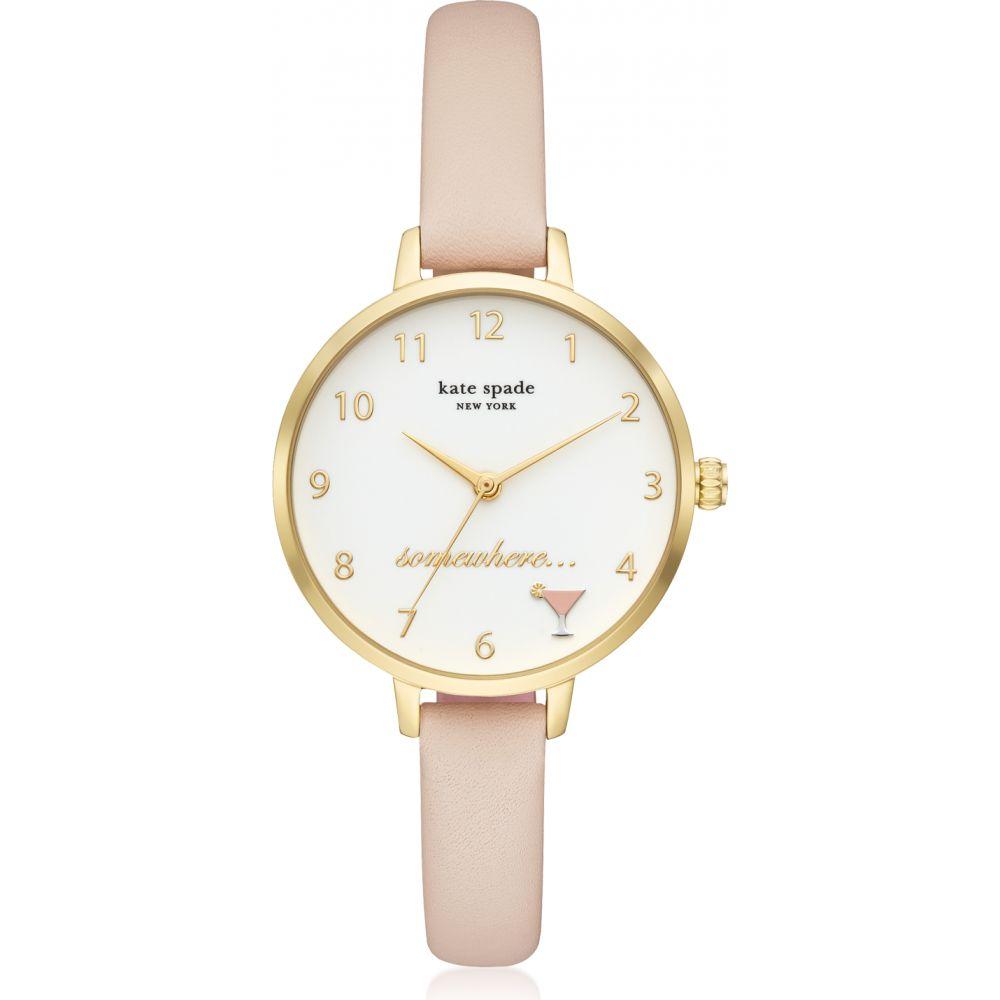 ケイト スペード Kate Spade New York レディース 腕時計 【KSW1524 Metro Watch】Gold