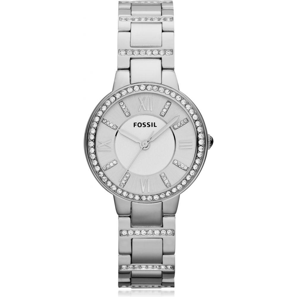 フォッシル Fossil レディース 腕時計 【Virginia Stainless Steel Watch】Silver