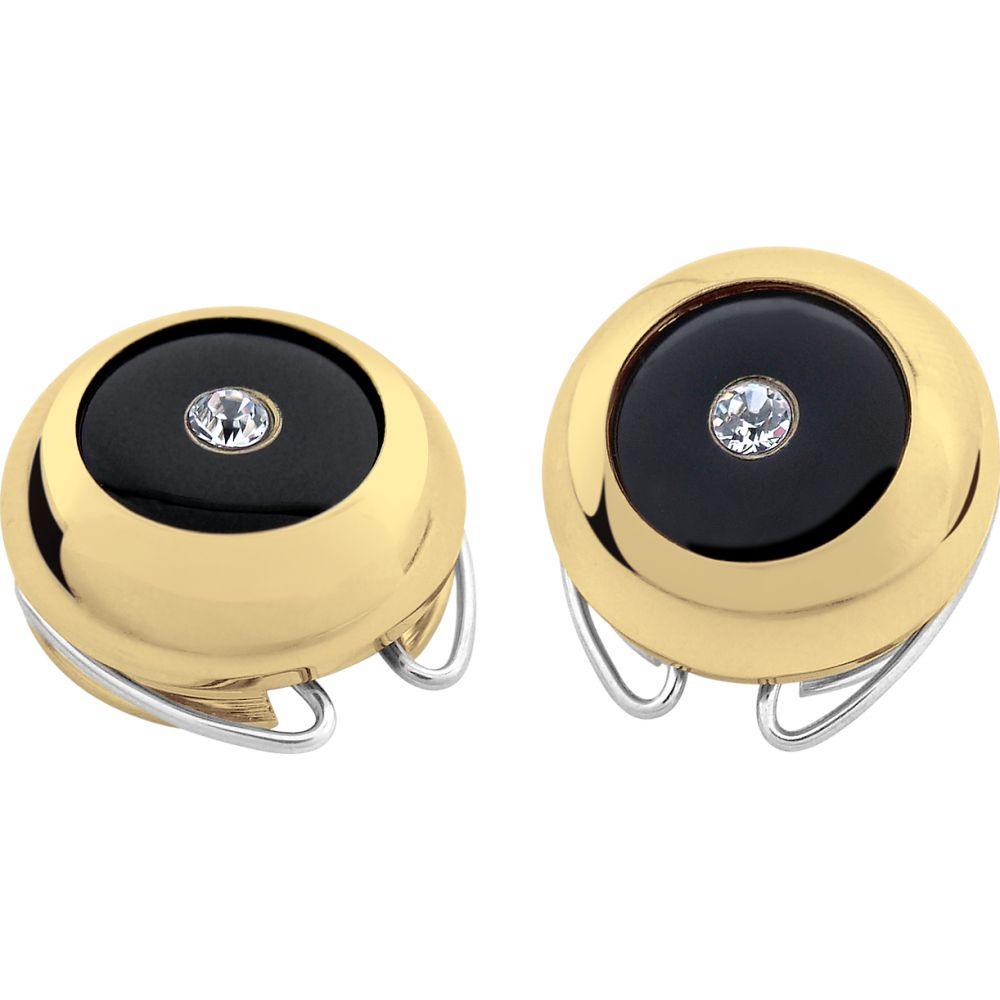 フォルツィエリ Forzieri メンズ ファッション小物 【Gold-Plated Crystal Button Covers】Gold