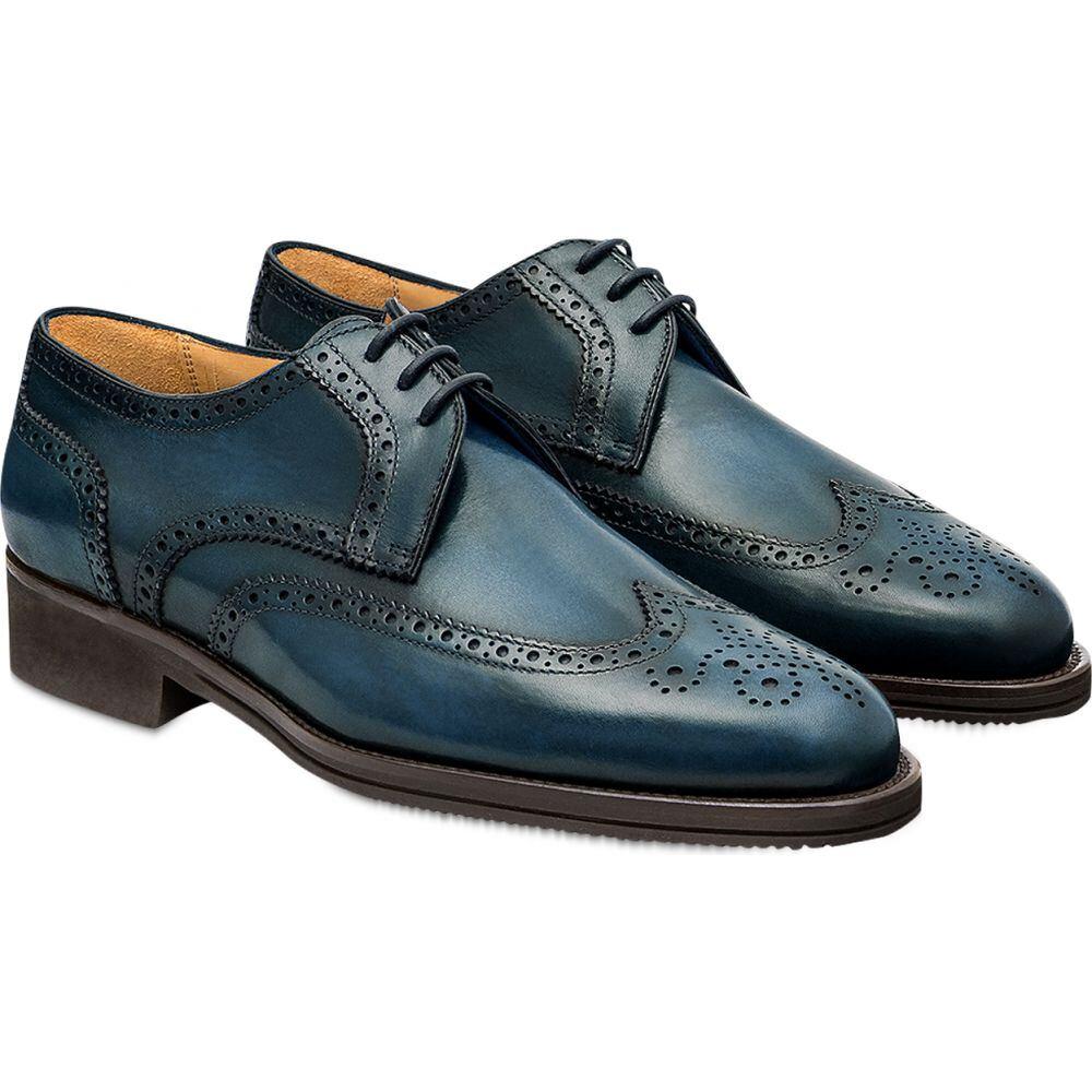 パーカーソン Pakerson メンズ 革靴・ビジネスシューズ ダービーシューズ シューズ・靴【Blue Pisa Derby Shoe】Blue