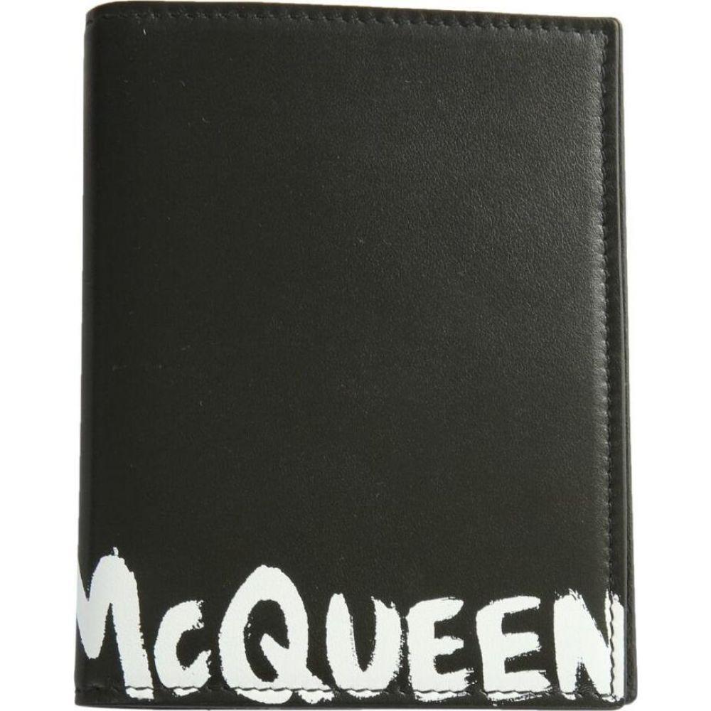 アレキサンダー マックイーン Alexander McQueen メンズ パスポートケース 【Passport Holder With Graffiti Logo】