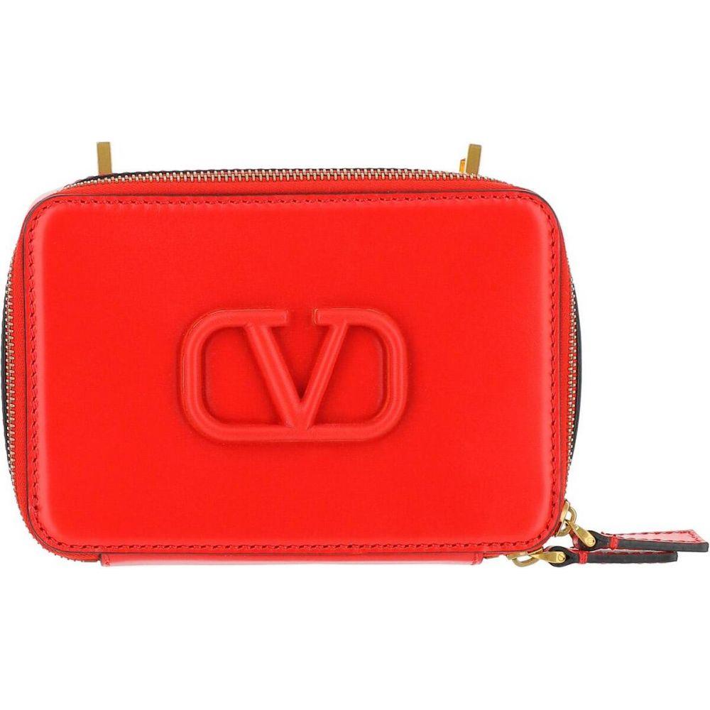 ヴァレンティノ Valentino レディース ショルダーバッグ バッグ Red VSling Shoulder Bag Red 出産内祝 無条件返品・交換 お支払い方法について お年賀 新学期 お配り物 お支払い方法について キャンセル・変更について