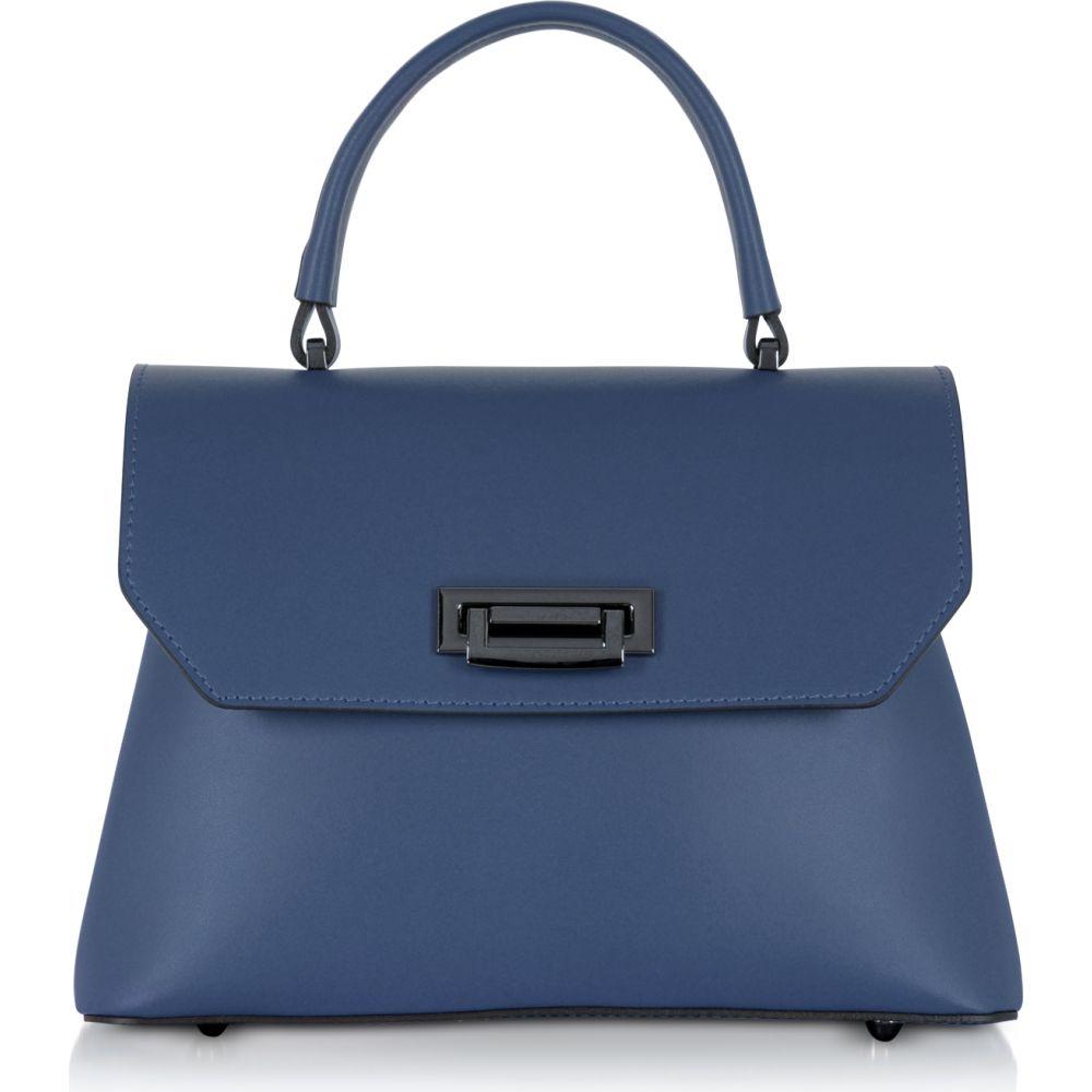 ジゼル Gisele 39 レディース ハンドバッグ サッチェルバッグ バッグ Lutece Small Leather Top Handle Satchel Bag Blue 結婚内祝 ホワイトデー 売れ行きがよい