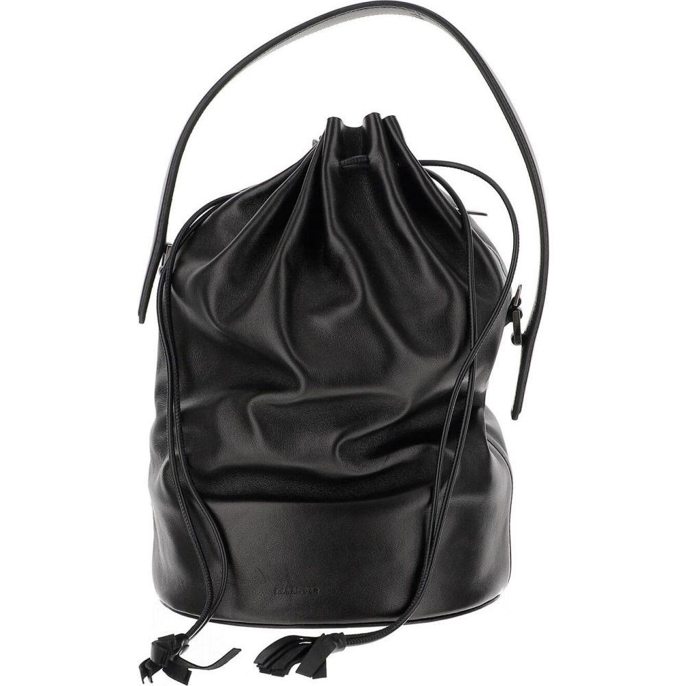 ジル サンダー Jil Sander レディース ショルダーバッグ バケットバッグ バッグ【Black Lamb Leather Bucket Bag】Black