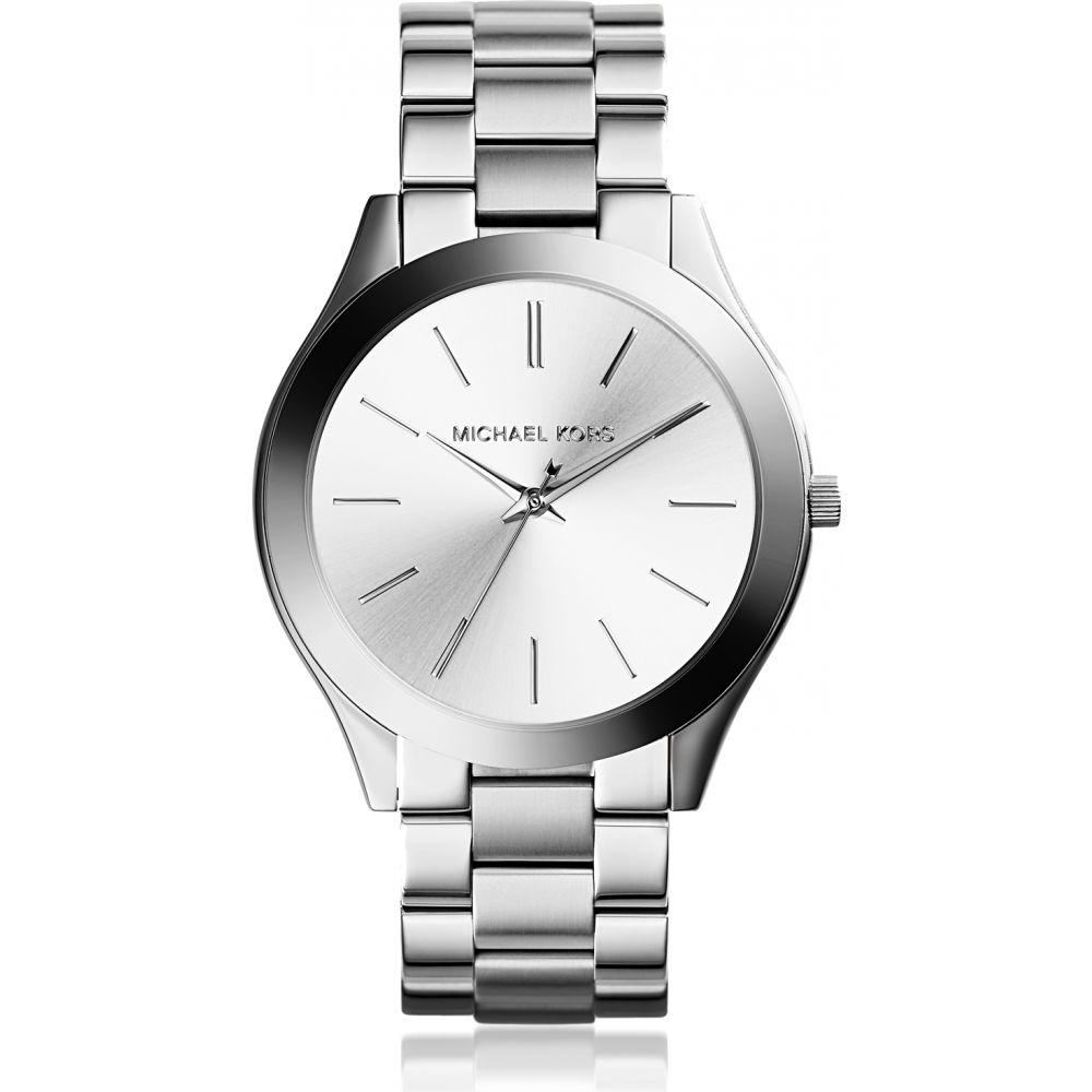 マイケル コース Michael Kors レディース 腕時計 【Slim Runway Watch】Silver