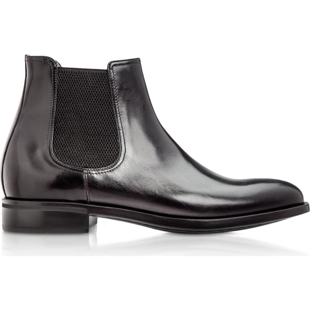 モレスキー Moreschi メンズ ブーツ チェルシーブーツ シューズ・靴【Chelsea Black Calfskin Boots】Black