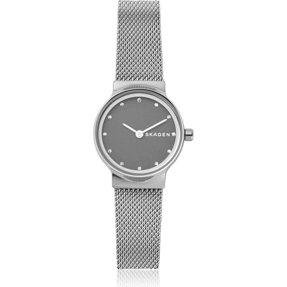 スカーゲン Skagen レディース 腕時計 【Freja Steel-Mesh Watch】Silver