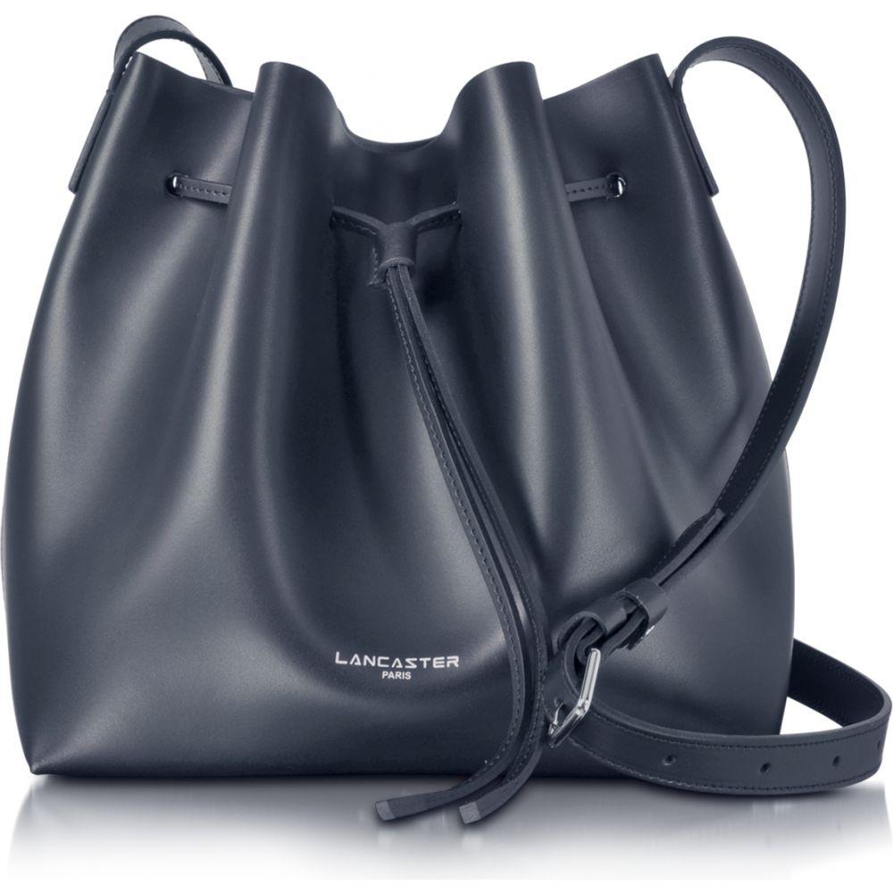 ランカスター Lancaster Paris レディース ショルダーバッグ バケットバッグ バッグ【Pur Smooth Leather Bucket Bag】Blue