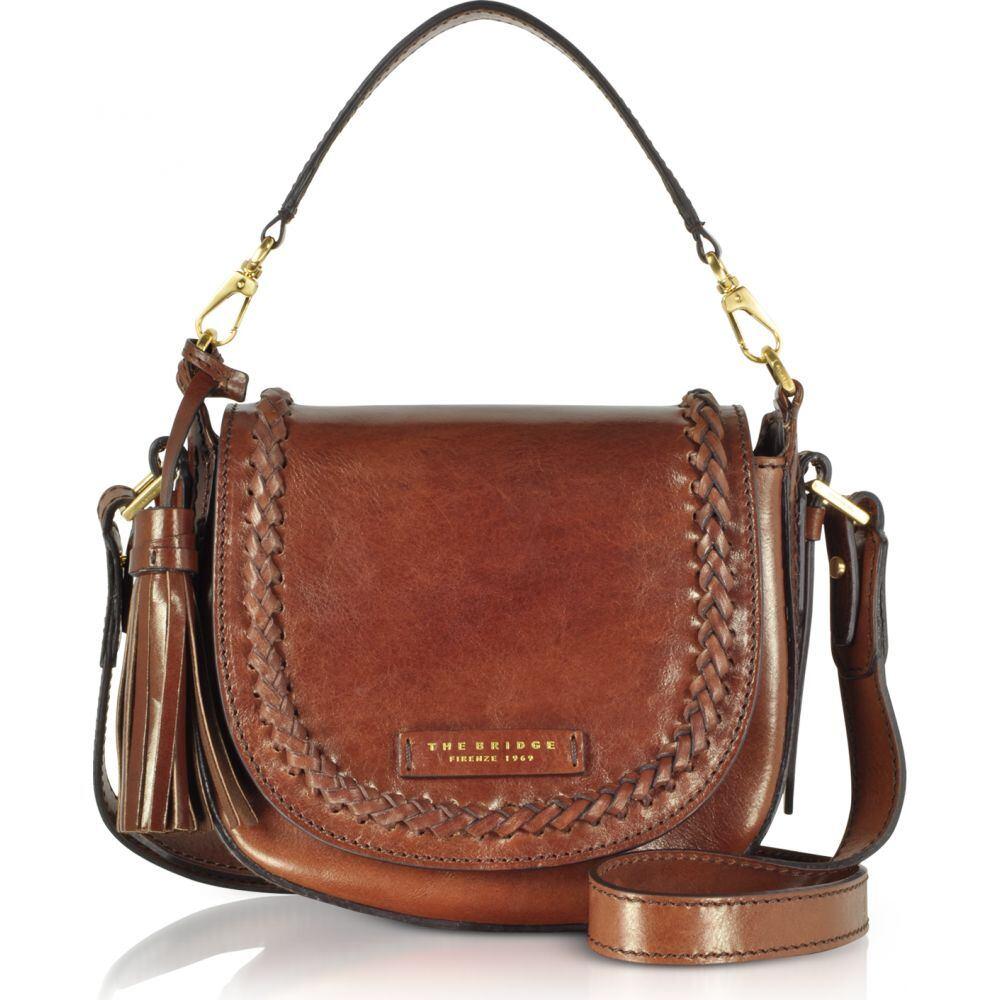 ブリッジ The Bridge レディース ショルダーバッグ バッグ【Murakami Leather Medium Shoulder Bag】Dark Brown