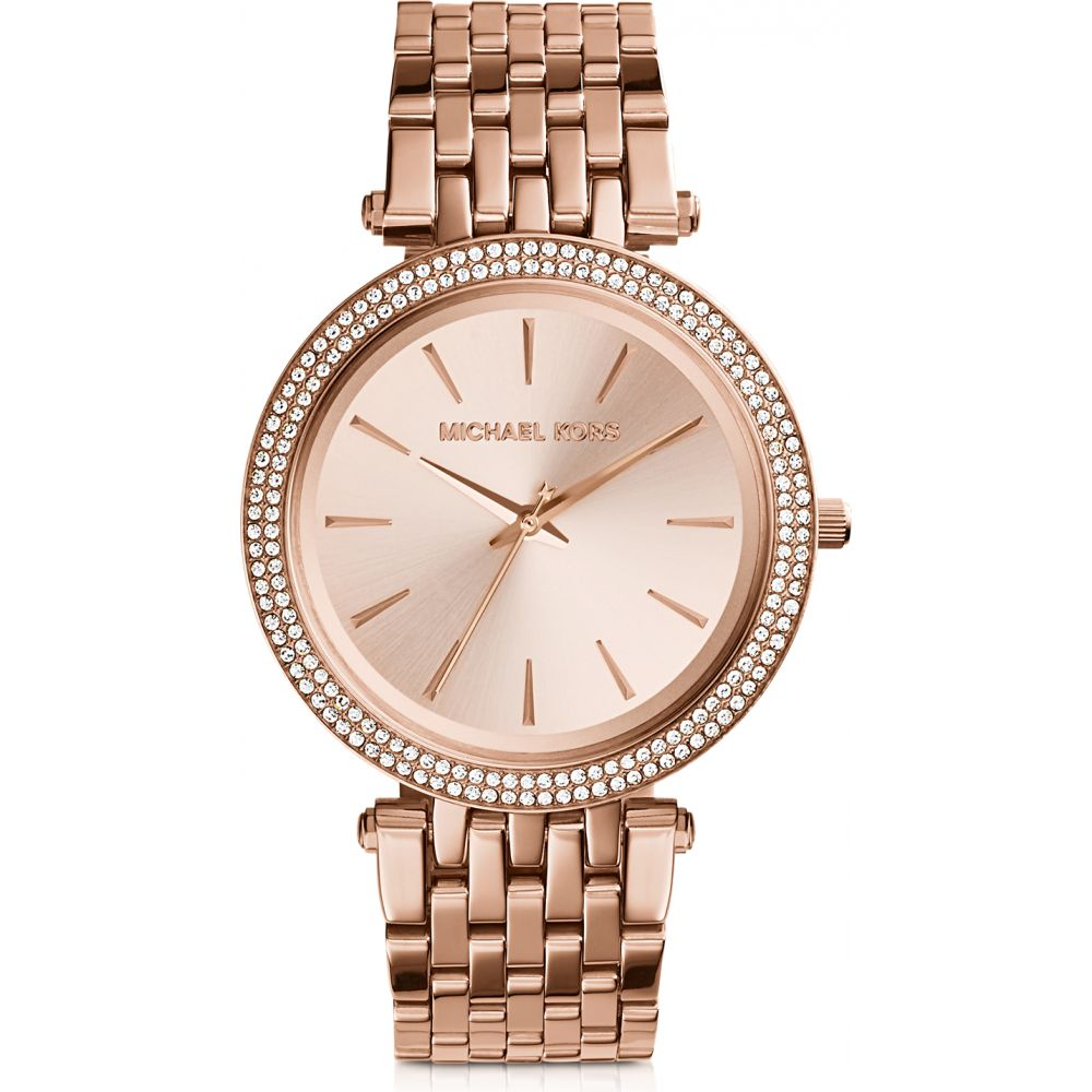 マイケル コース Michael Kors レディース 腕時計 【Darci Stainless Steel Watch】Rose Gold