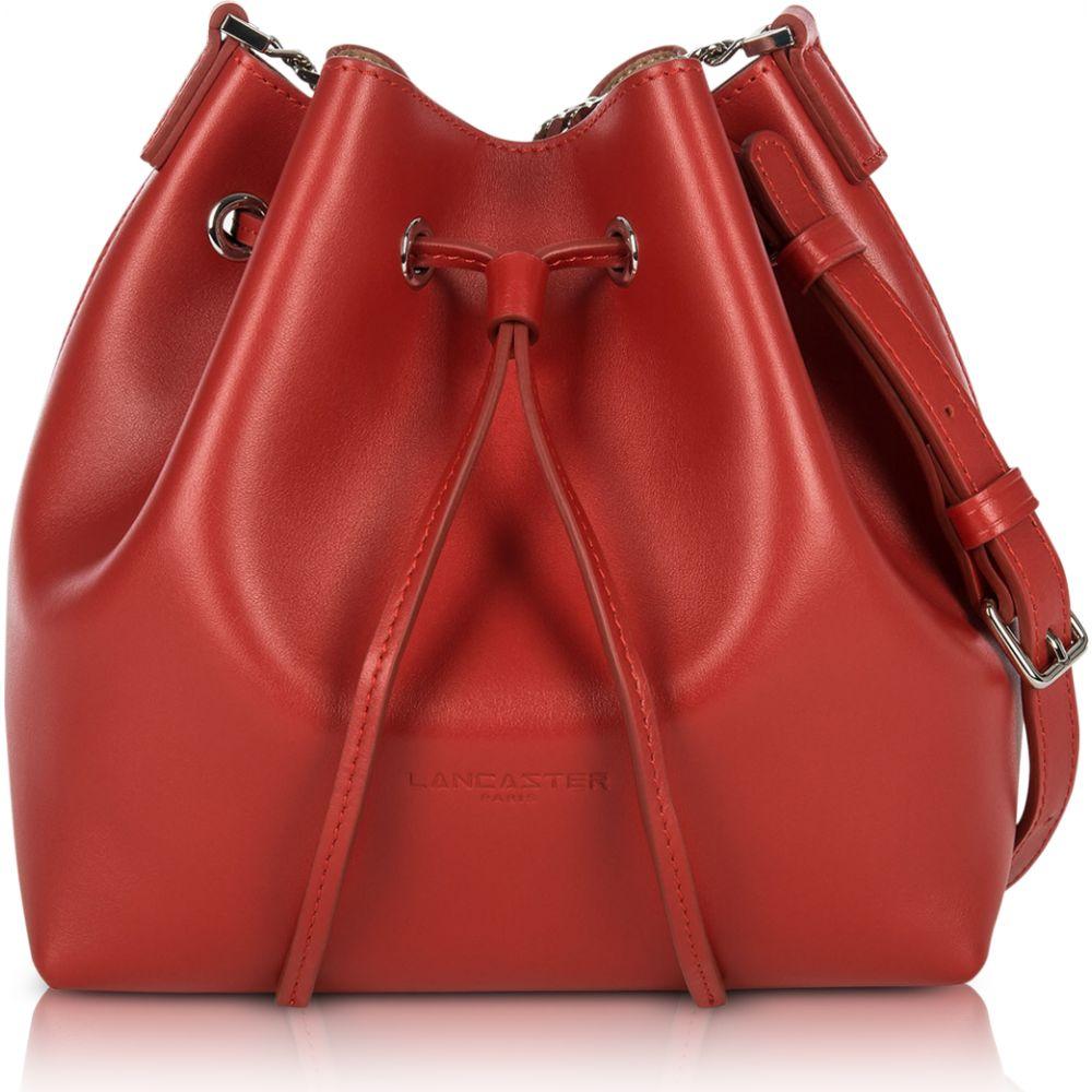 ランカスター Lancaster Paris レディース ショルダーバッグ バケットバッグ バッグ【Pur Treasure Small Bucket Bag】Red