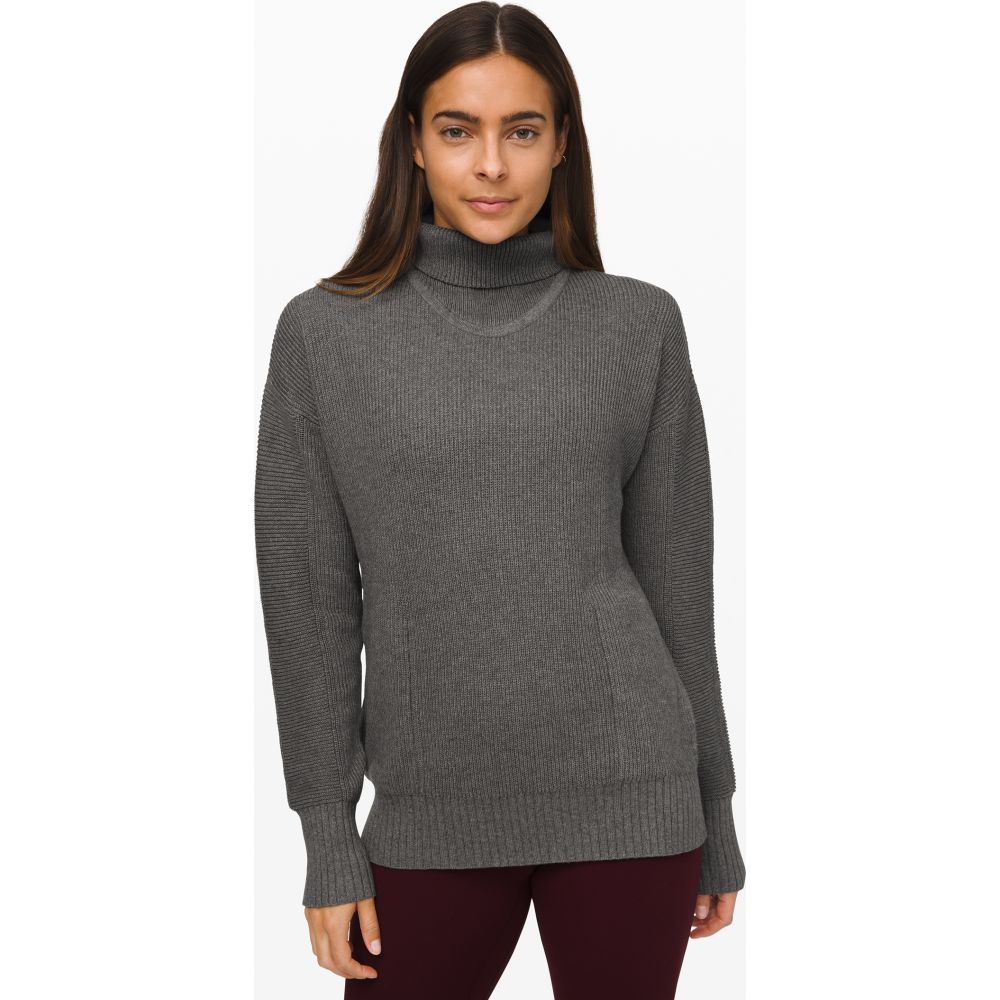 ルルレモン lululemon レディース トップス 【Cozy Calling Turtleneck】Heathered Core Medium Grey